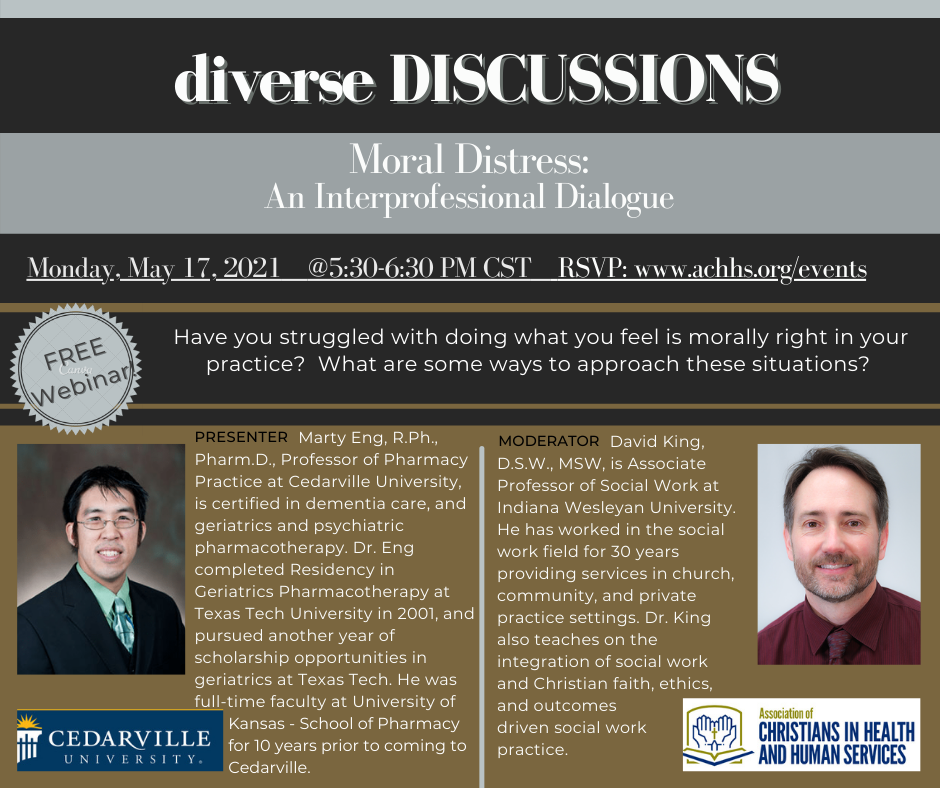 Moral Distress: An Interprofessional Dialogue