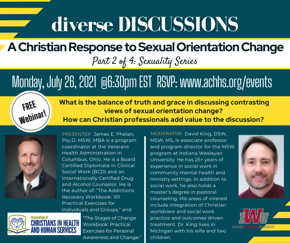 A Christian Response to Sexual Orientation Change