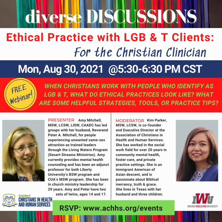 Ethical Practice with LGB & T Clients: for Christian Clinicians